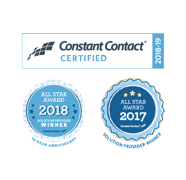 Constant Contact Solution Provider All Star Award Winner